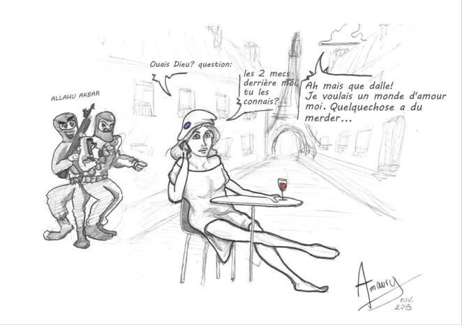 dessin Amaury