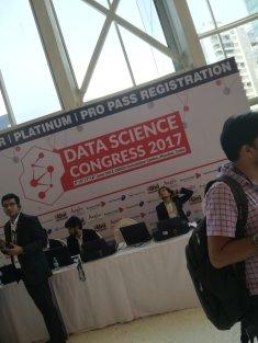 Nous nous sommes donc retrouvées dans un Data Science Congress..