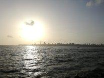 Le coucher de soleil sur Marine Drive