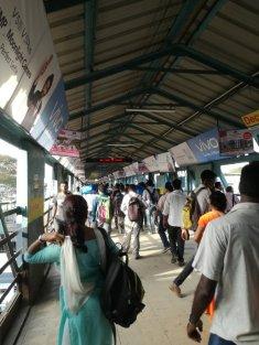 La station de train de Panvel, la plus proche de là où je réside